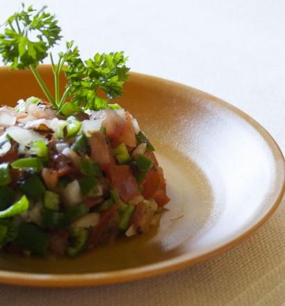 recette salade tunisienne slata tounsia