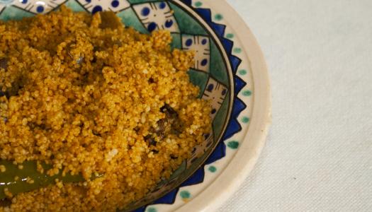 Couscous mesfouf tunisien