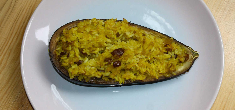 Recette marocaine aubergines farcies au riz