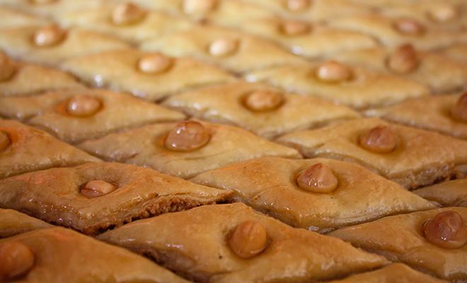 recette baklawa aux amandes et noisettes