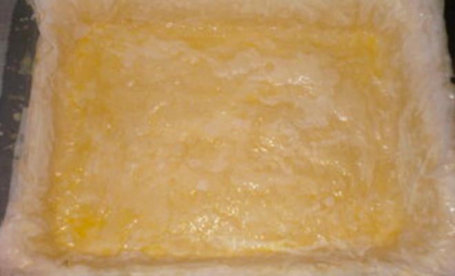 Baklava aux amandes - pâte fine