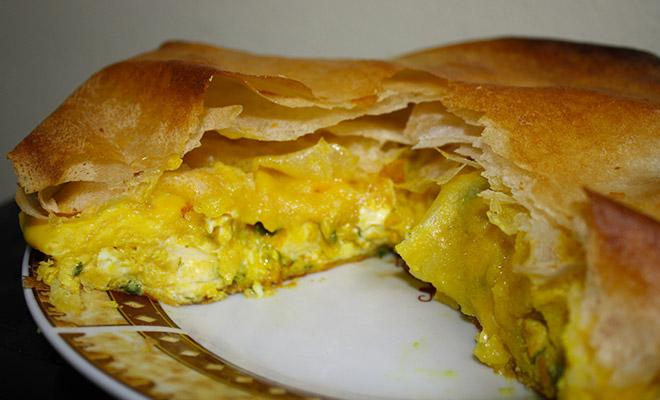 recette tunisienne tajine malsouka
