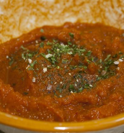 recette salade purée carotte tunisienne