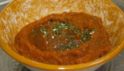 Recette salade de purée de carotte tunisienne
